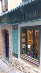 Torreón Rueda- Entrada librería