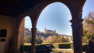 Monasterio Parral entrada