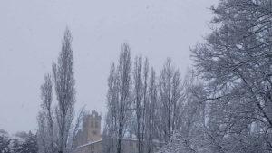 Monasterio Parral nevado