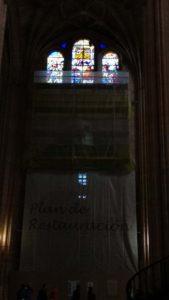 Restuuración vidrieras Catedral de Segovia