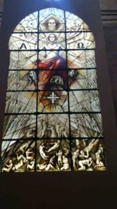 Vidriera Juicio Final (Catedral de Segovia)